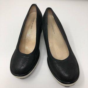 Stuart Weitzman | Black Wedge Shoes